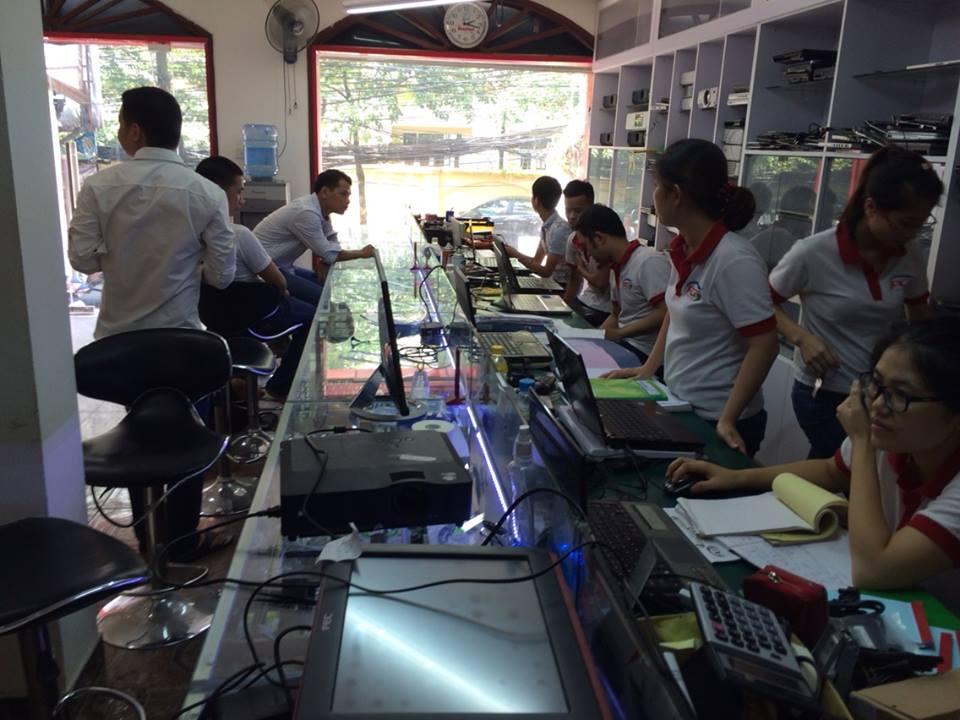 Sửa chữa laptop NEC VersaPro VF VY25A/F-7, E6300, E6201, E6310