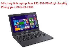 Sửa máy tính laptop Acer ES1-531-P5H0 tại cầu giấy