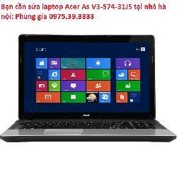 Bạn cần sửa laptop Acer As V3-574-31JS tại nhà hà nội
