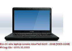 Địa chỉ sửa laptop Lenovo IdeaPad G450 - 2248 (5903-2248) nhiễu hình