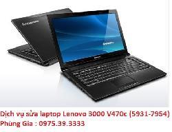 Dịch vụ sửa laptop Lenovo 3000 V470c (5931-7954) có nguồn không hình